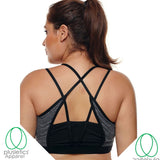 Criss- Cross-Sport Bra