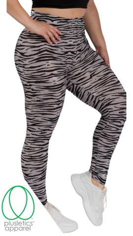 Jungle Tiger Leggings – Grey