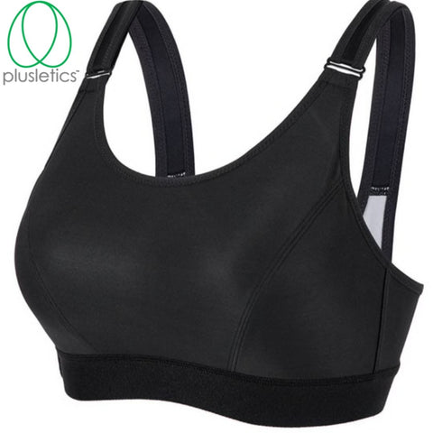 Front Adjustable Wire-free High Impact Sports Bra