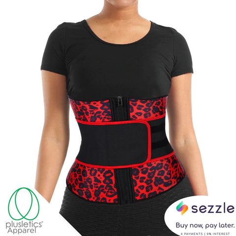 Single Snatched Leopard Print  Neoprene Waist Trainer