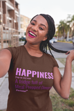 Happiness: A fridge full of Meal Prepped Dinners! | Happiness T-Shirt