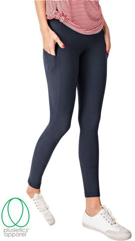 Deep Pockets Leggings - Nocturnal Blue