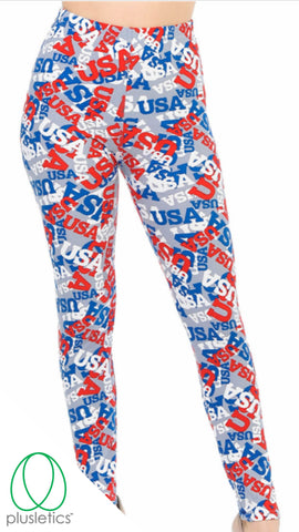 USA 🇺🇸 Leggings