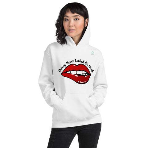 Curvy Never Look So Good Hooded Sweatshirt