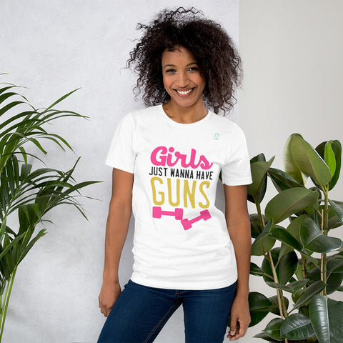 Girls Just Wanna To Have Guns T-Shirts