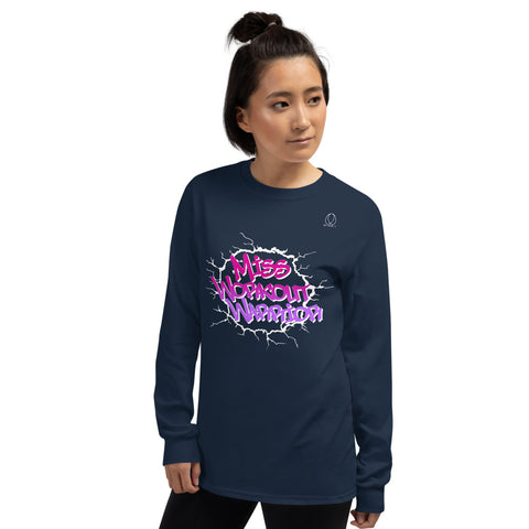 Miss Workout Warrior Long Sleeve T-Shirt