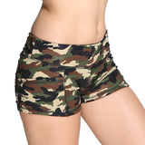 Camo Xtreme-FIT Booty Short Green