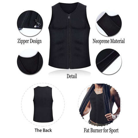 Men's Neoprene Sweat Vest