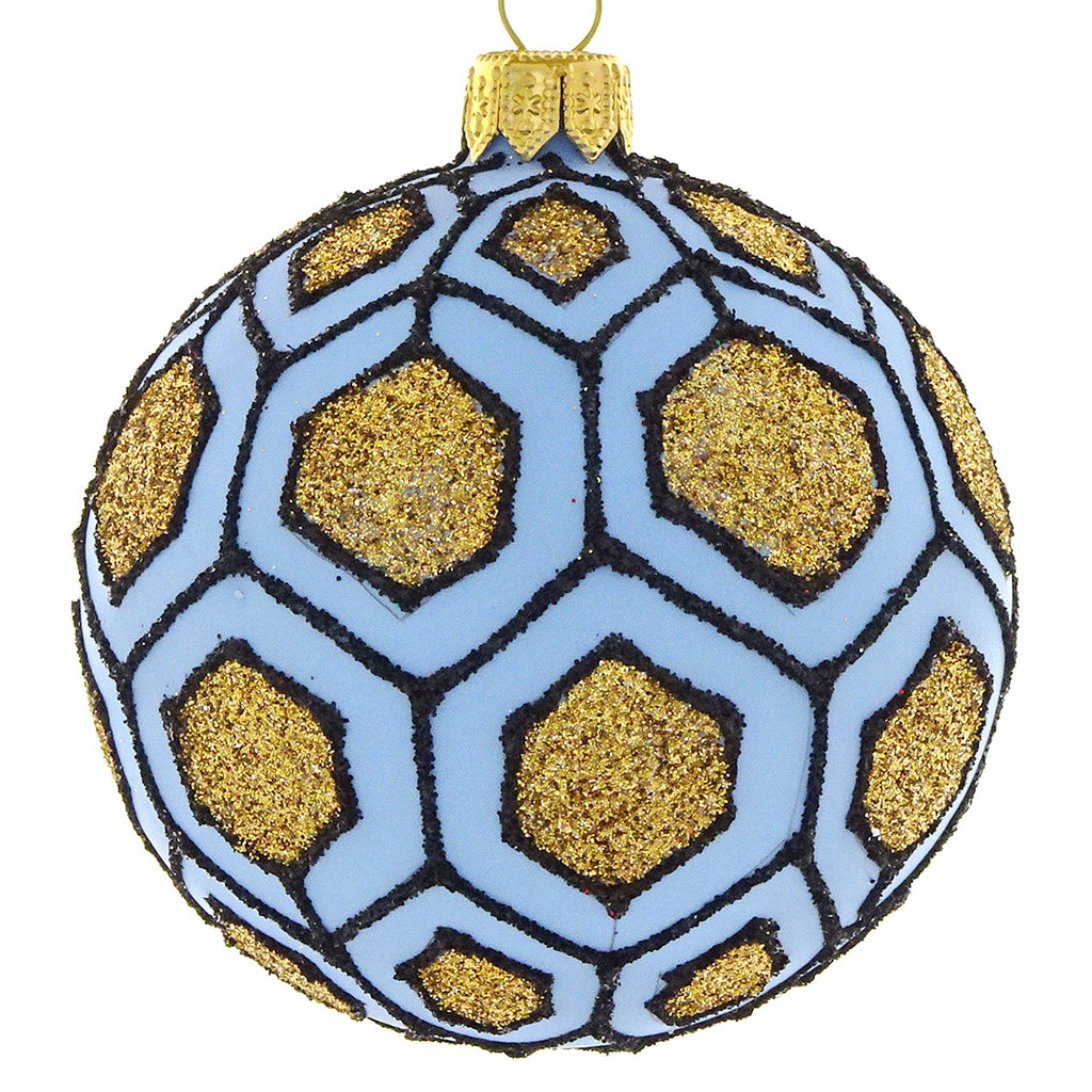 Blue Geo bauble