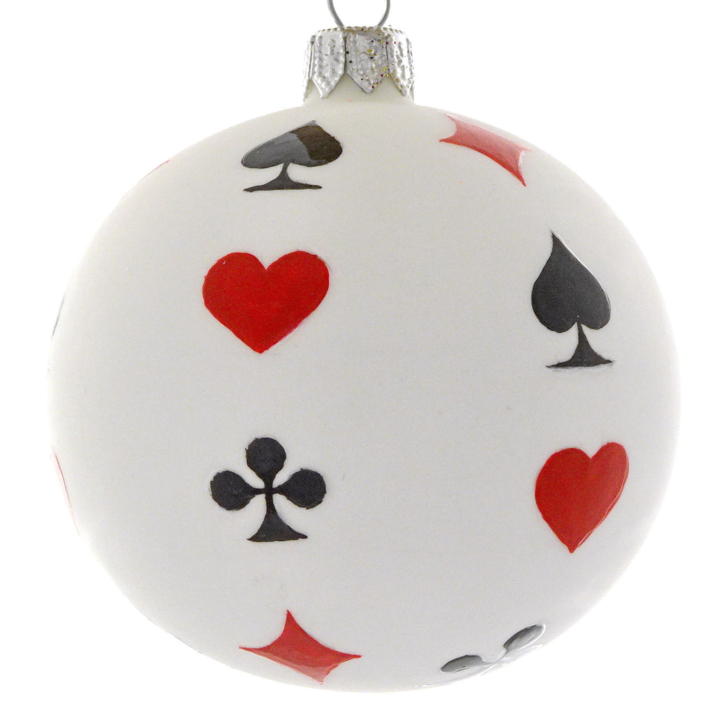 Playing card bauble
