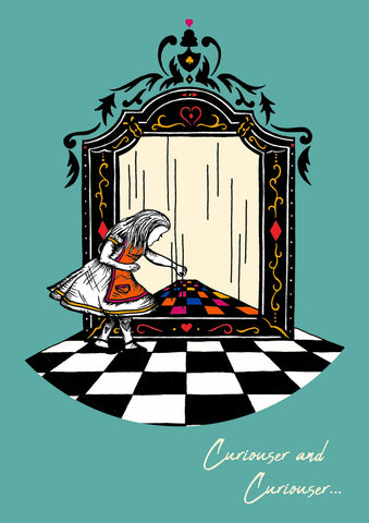 Alice and the Looking Glass - Colour