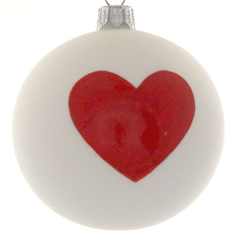 Heart bauble