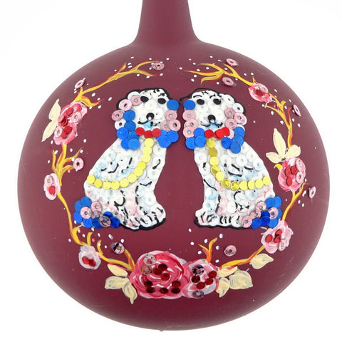 Chinoiserie Staffordshire bauble