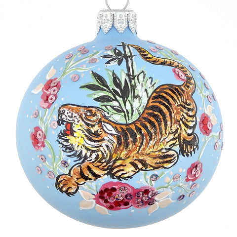 Ornate Tiger bauble