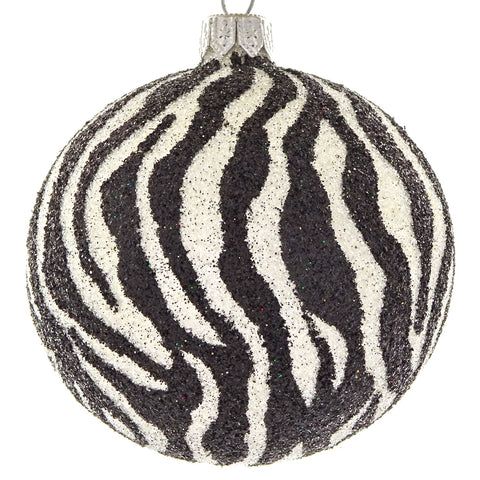 Zebra bauble