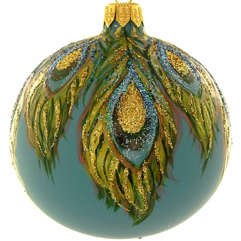 Peacock bauble 2