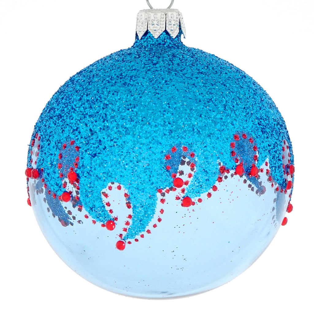 Blue Cowboy bauble