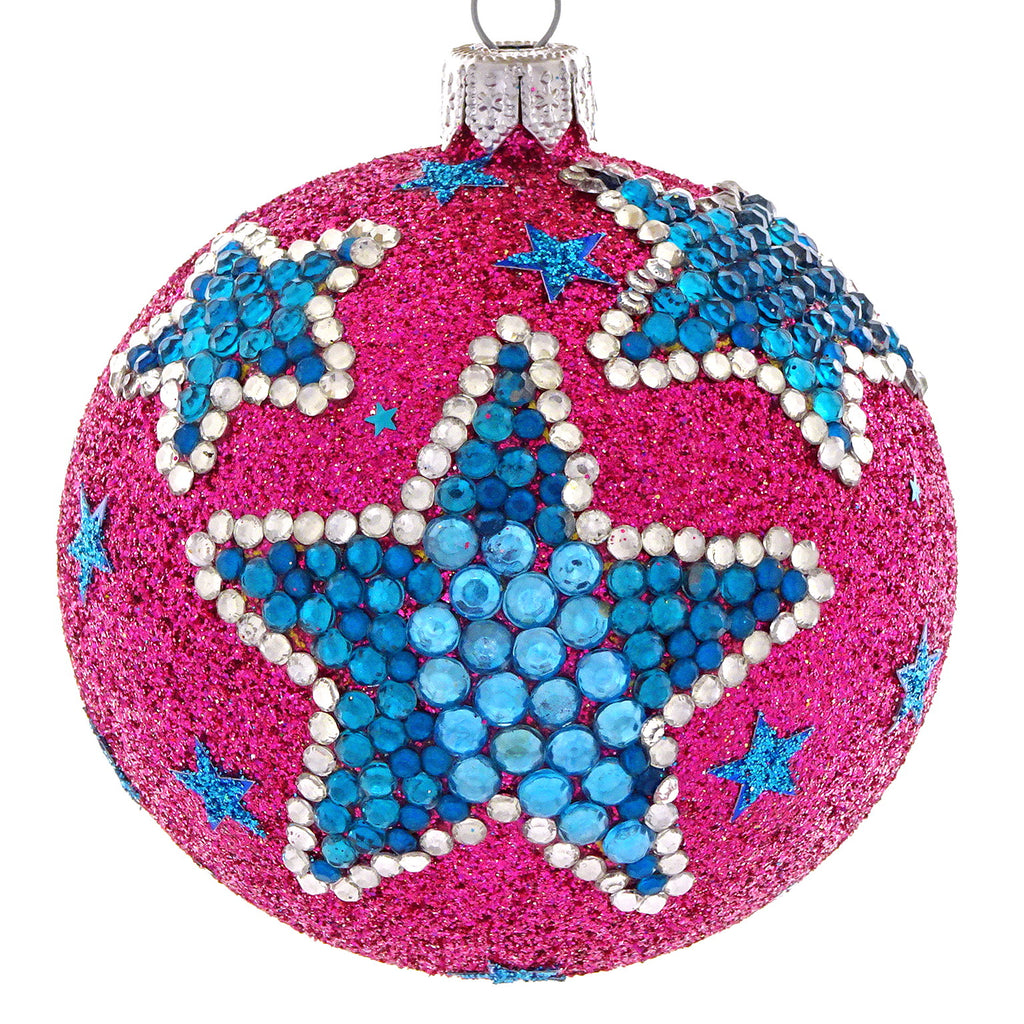 Rhinestone Star bauble