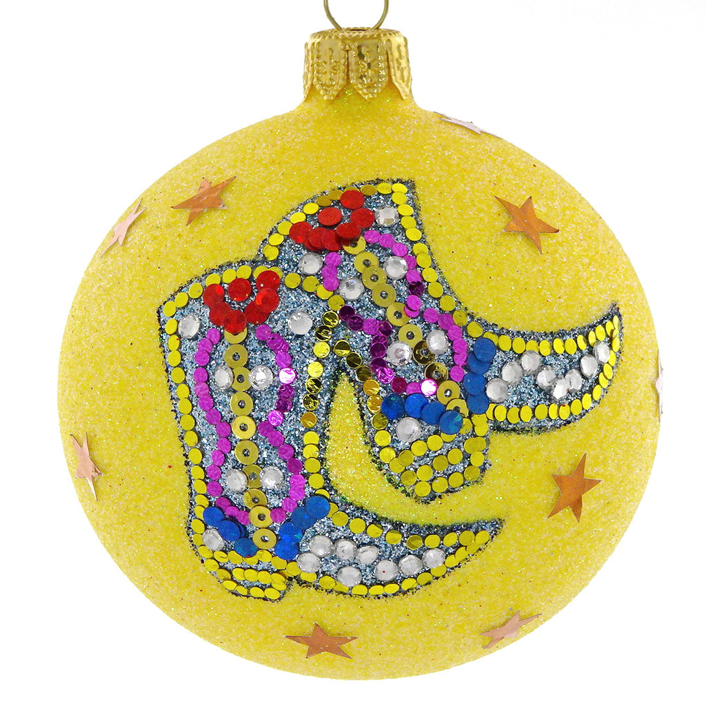 Cowboy boot bauble