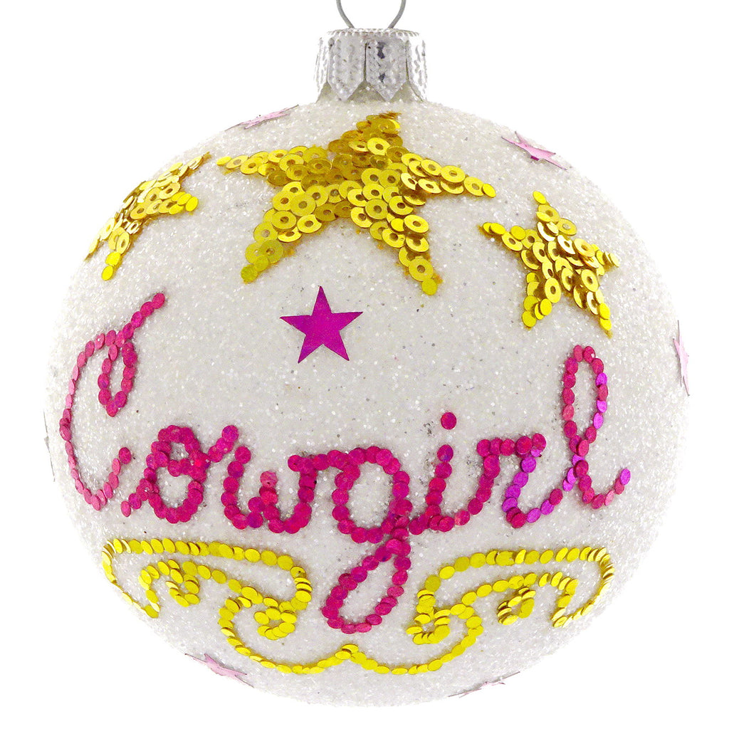 Cowgirl bauble