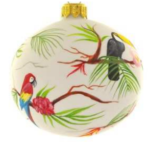Tropical birds bauble
