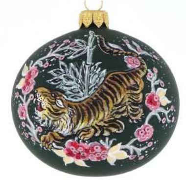 Green Tiger bauble