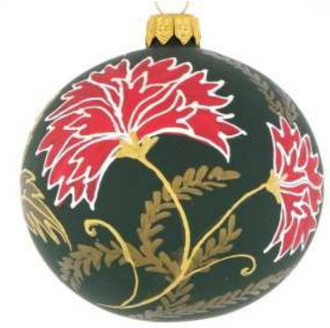 Georgian green bauble