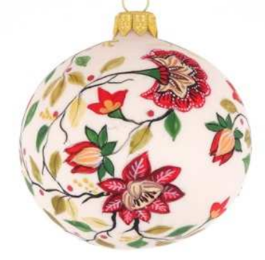 Georgian white bauble