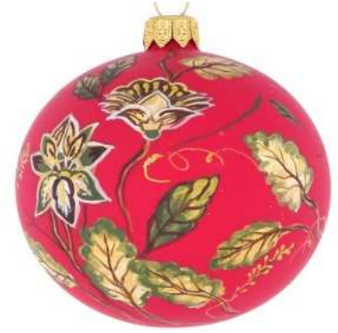 Georgian red bauble