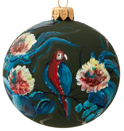 Blue Parrot bauble