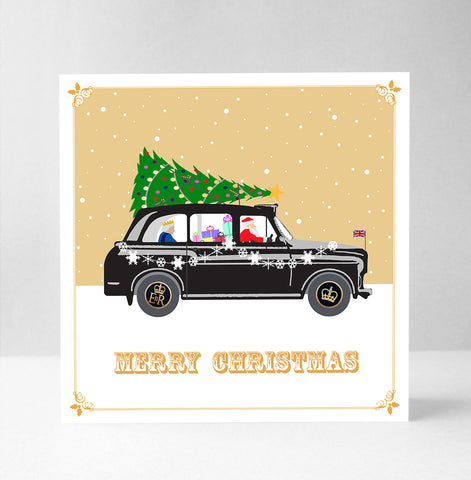 Christmas - The London Taxi