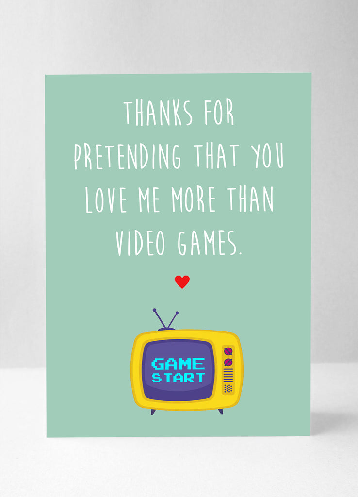 Video game love...