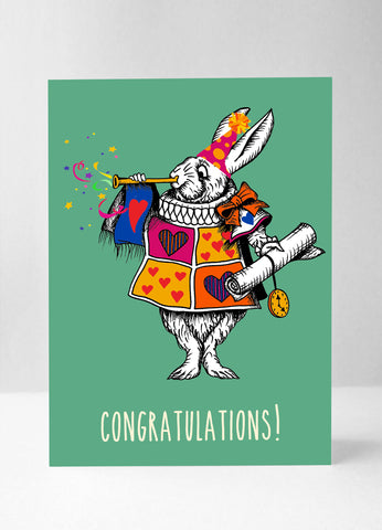 The White Rabbit - Colour Congratulations