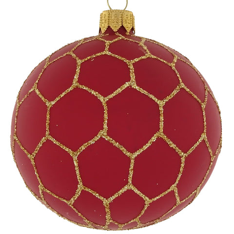 Cocktail bauble (red)
