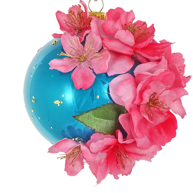 Frida flowers bauble