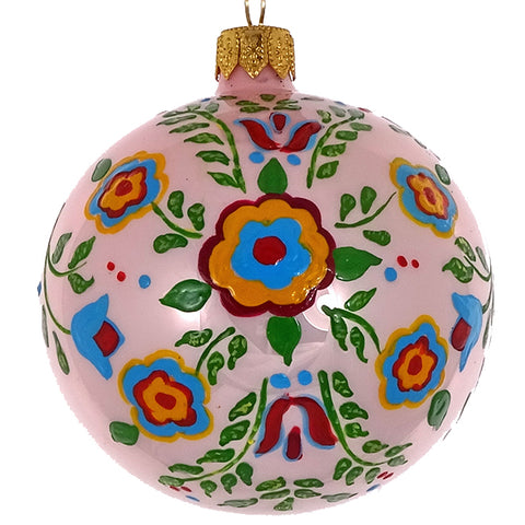 Floral bauble (pink)