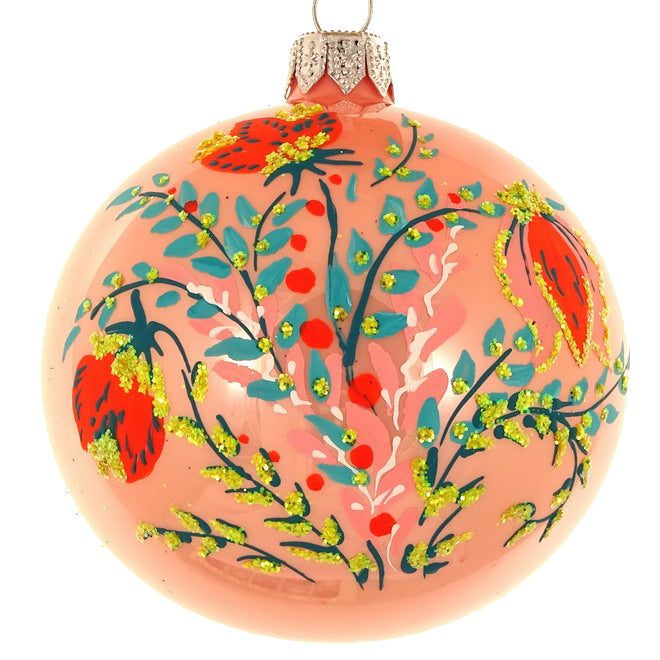 Floral bauble (peach)