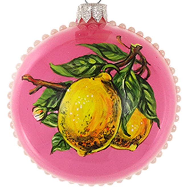 Lemon bauble