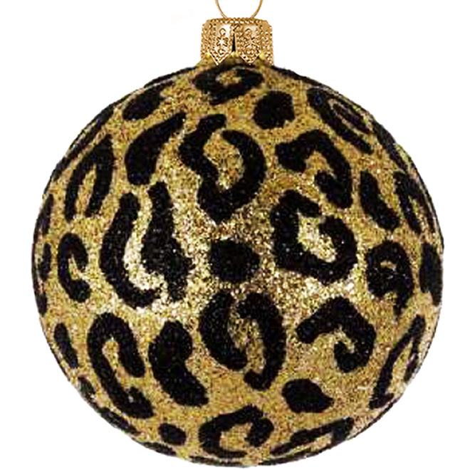 Leopard bauble