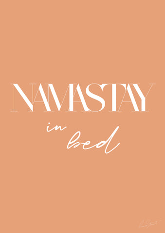 Namastay...in bed