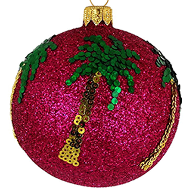 Palm tree bauble