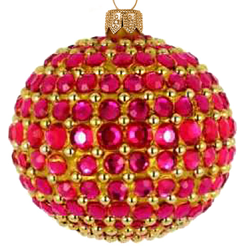 Pink Jewel bauble