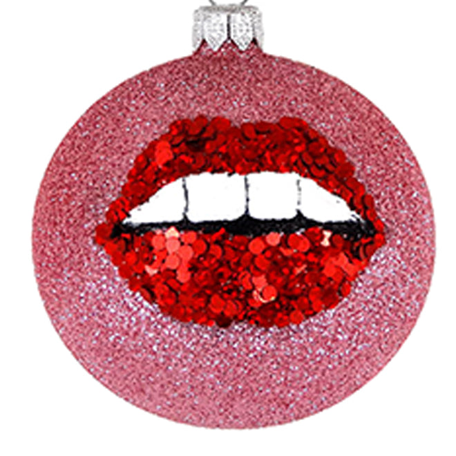Lips bauble