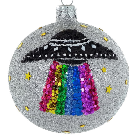 Spaceship bauble