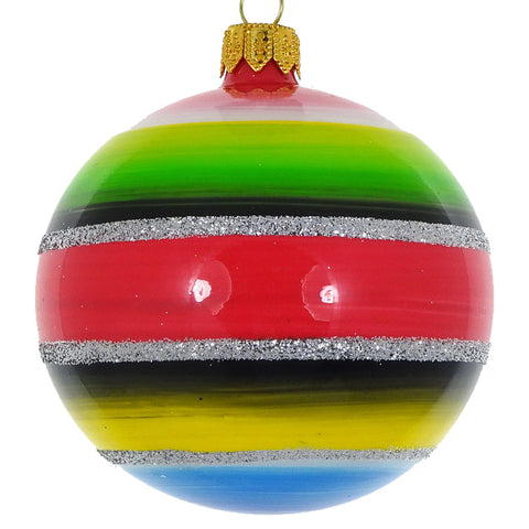 Stripe bauble