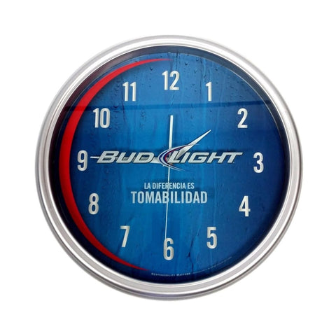 Bud Light Beer Clock