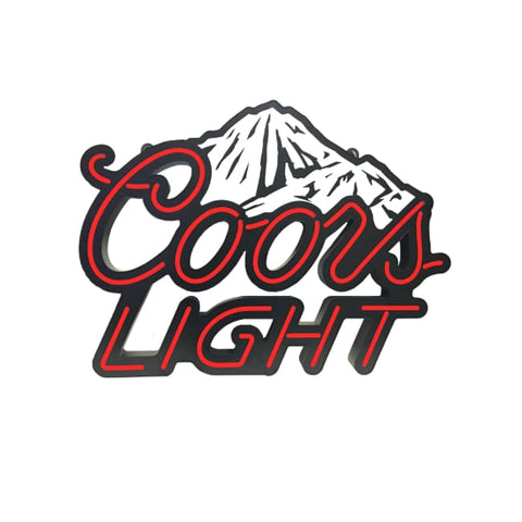 Coors Light White Beer LED Sign