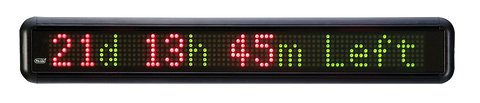 Pro-Lite TruColorXP LED Scrolling Message Sign