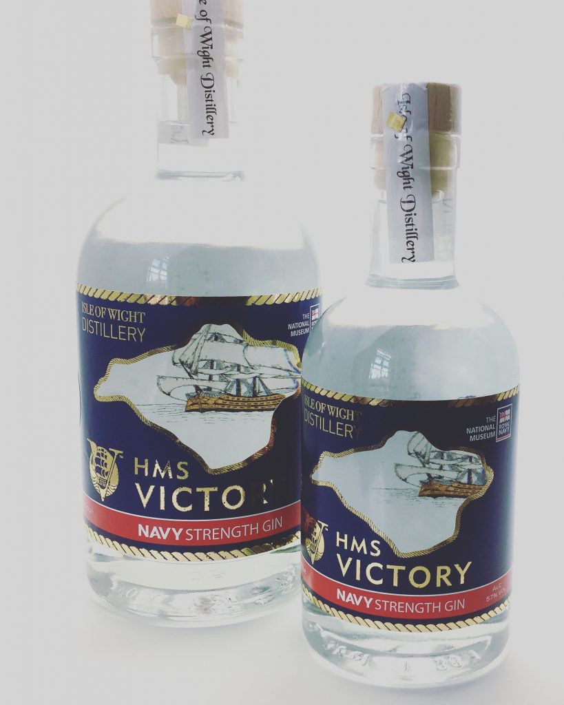Launch of HMS Victory Gin