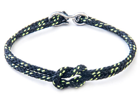 Anchor & Crew Rope & Silver Foyle Bracelet - NMRN - 1